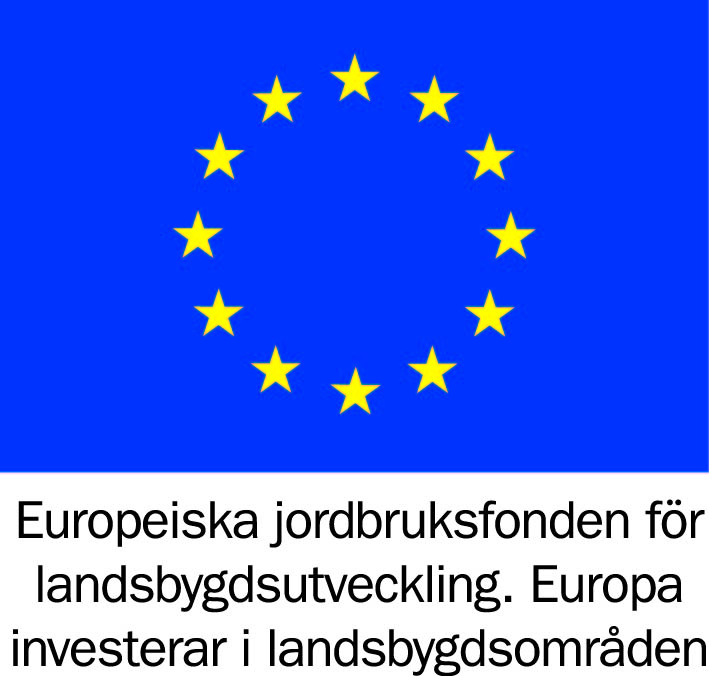 Europeiska jordbruksfonden för landsbygdsutveckling. Europa investerar i landsbygdsområden.
